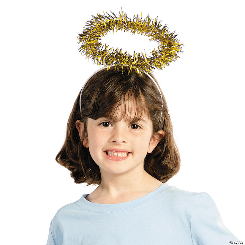 Gold Tinsel Halo Headbands Audio Thumbnail