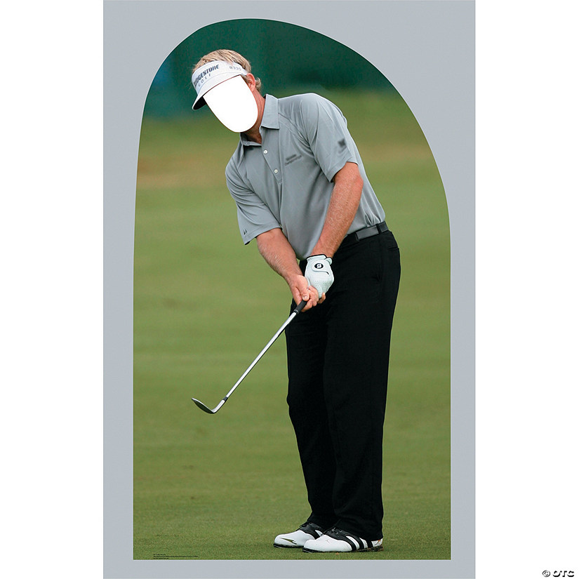 Golf Man Cardboard Stand-In Stand-Up