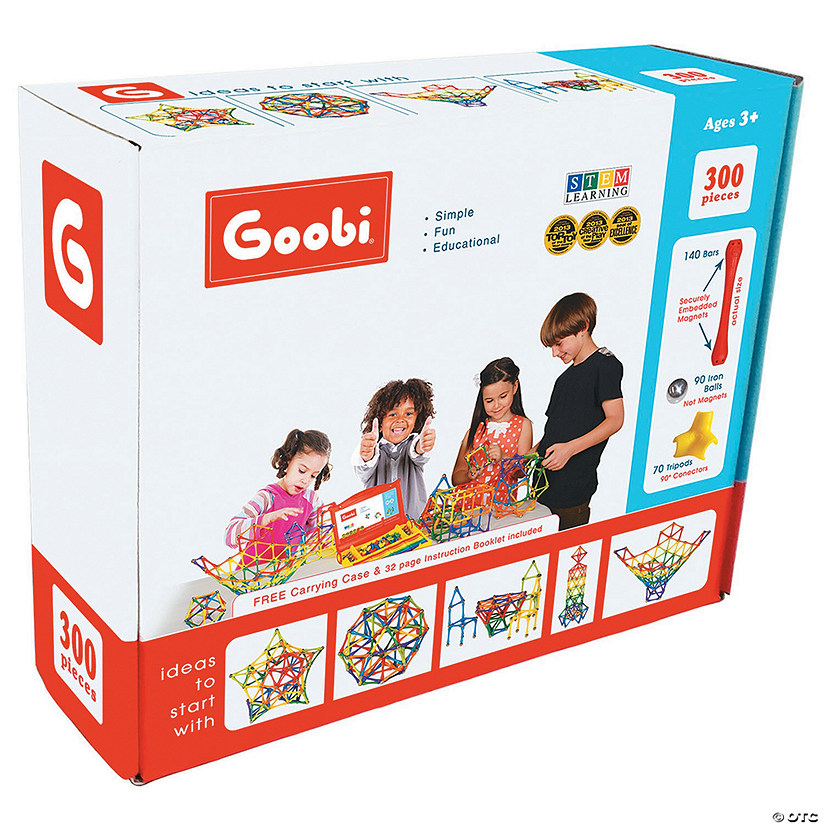 Goobi Magnetic Construction 300-Piece Ultra Pack Image Thumbnail