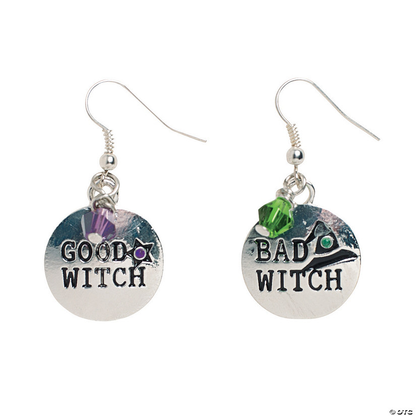 Good Witch/Bad Witch Earrings Craft Kit