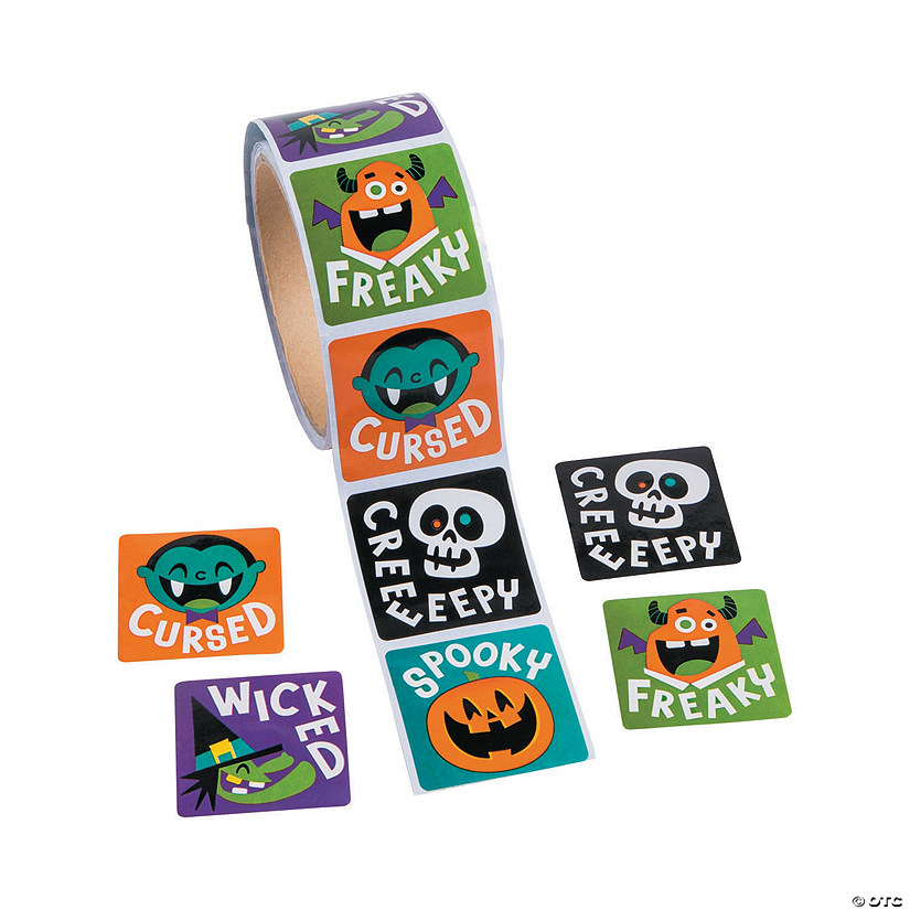 Goofy Ghouls Sticker Rolls Audio Thumbnail