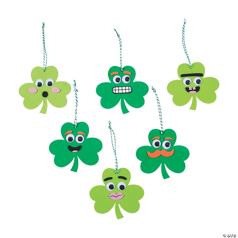 Goofy Shamrock Ornament Craft Kit Audio Thumbnail