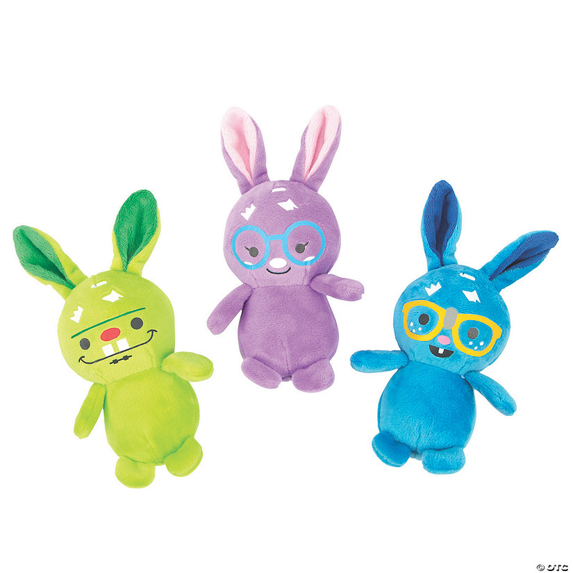 Goofy Stuffed Easter Bunnies Image Thumbnail