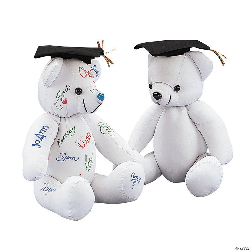 Graduation Autograph Stuffed Bear Audio Thumbnail