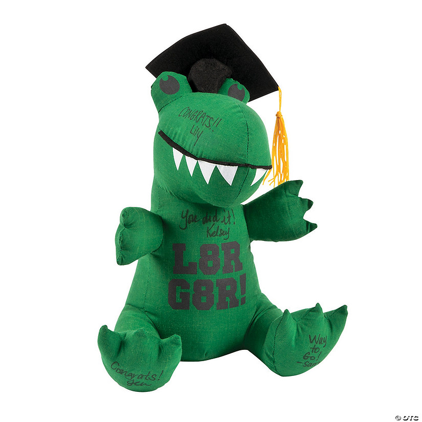Graduation Autograph Stuffed Gator Audio Thumbnail