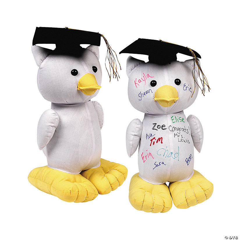 Graduation Autograph Stuffed Owl Audio Thumbnail