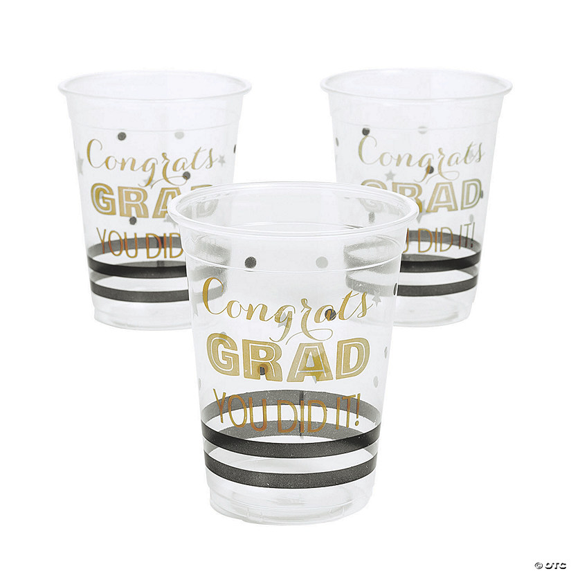 Graduation Plastic Cups Audio Thumbnail