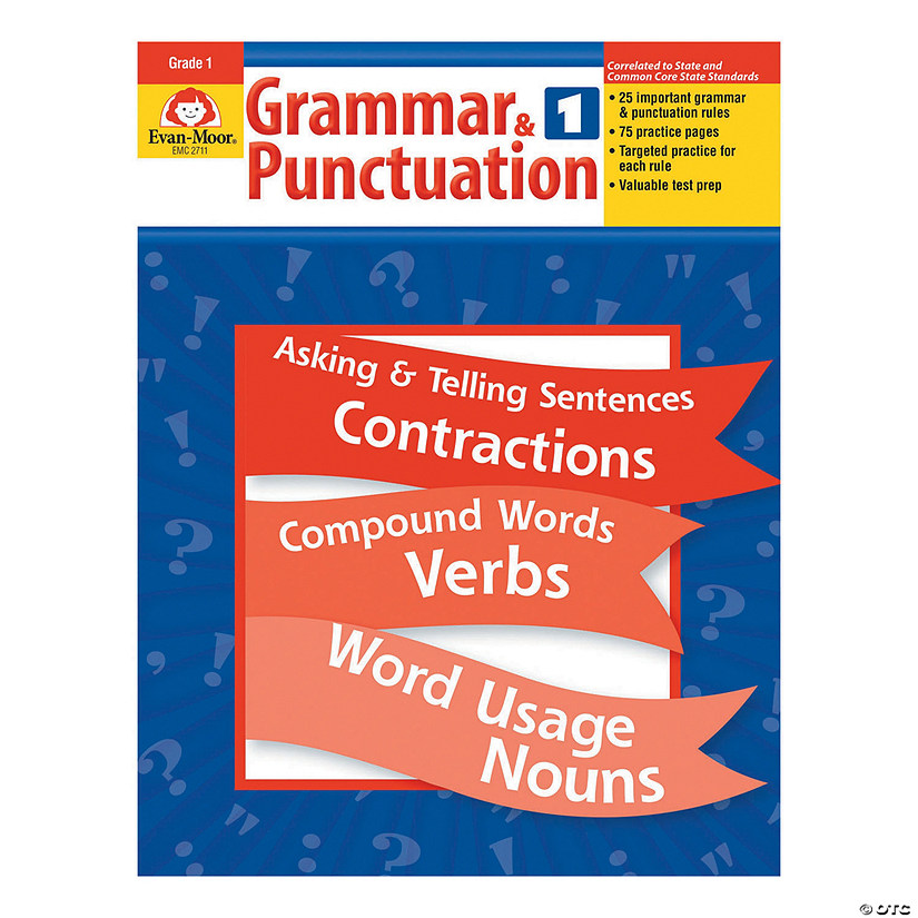 Grammar & Punctuation - Teacher Reproducibles, Grade 1 Audio Thumbnail