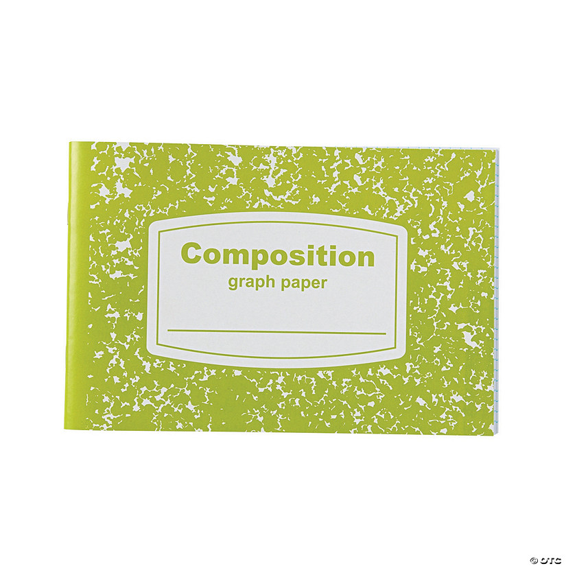 Graph Paper Half-Sized Composition Books Image Thumbnail