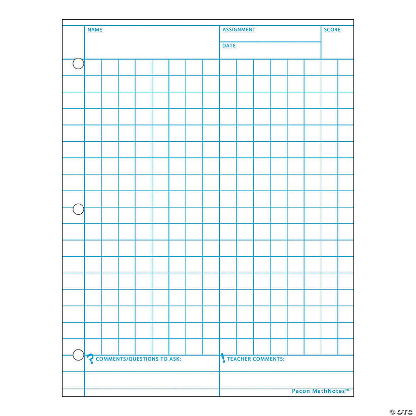 graphing paper  white