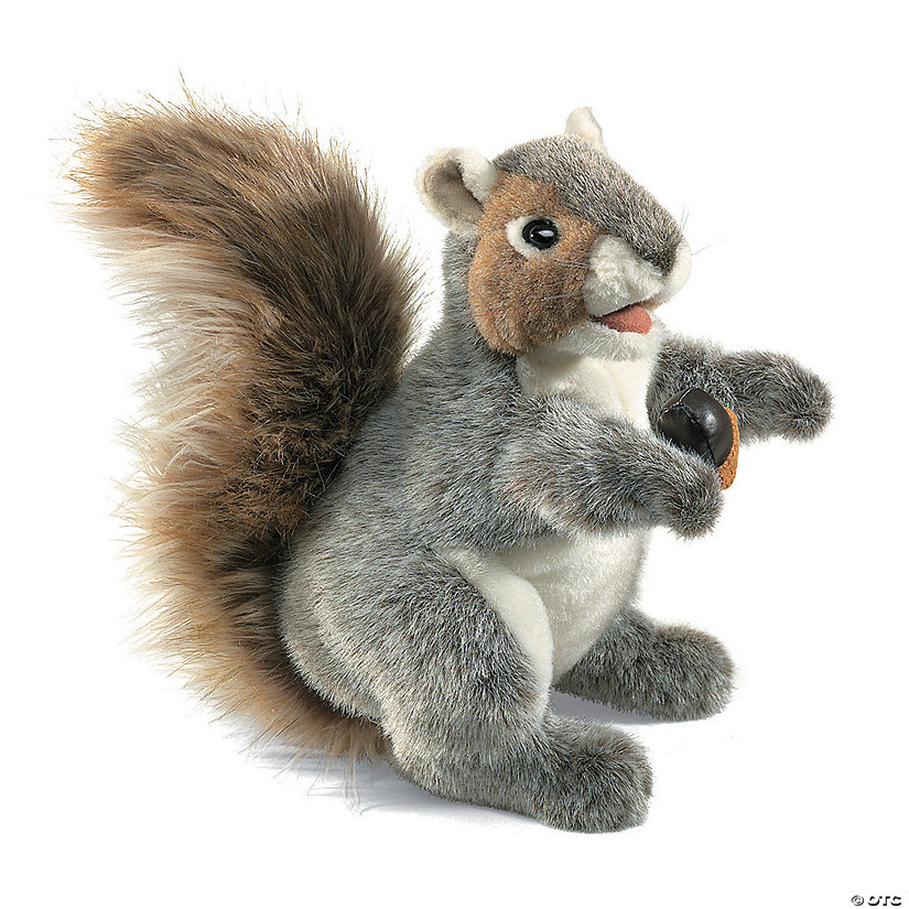 Gray Squirrel Hand Puppet Audio Thumbnail