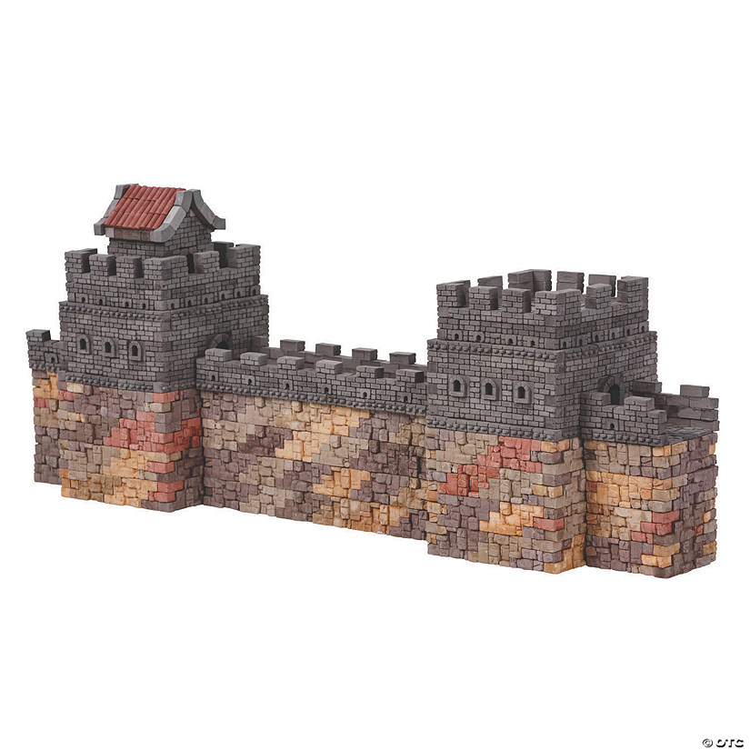 Great Wall Of China Re-Usable Brick Construction Set Image Thumbnail