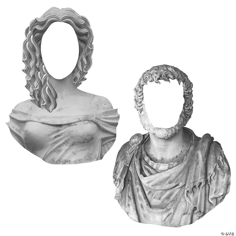 Greek God & Goddess Face Cutouts Image Thumbnail