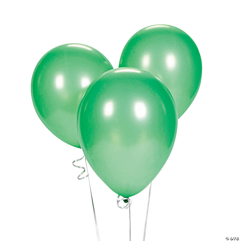 "Green 9"" Latex Balloons Audio Thumbnail"