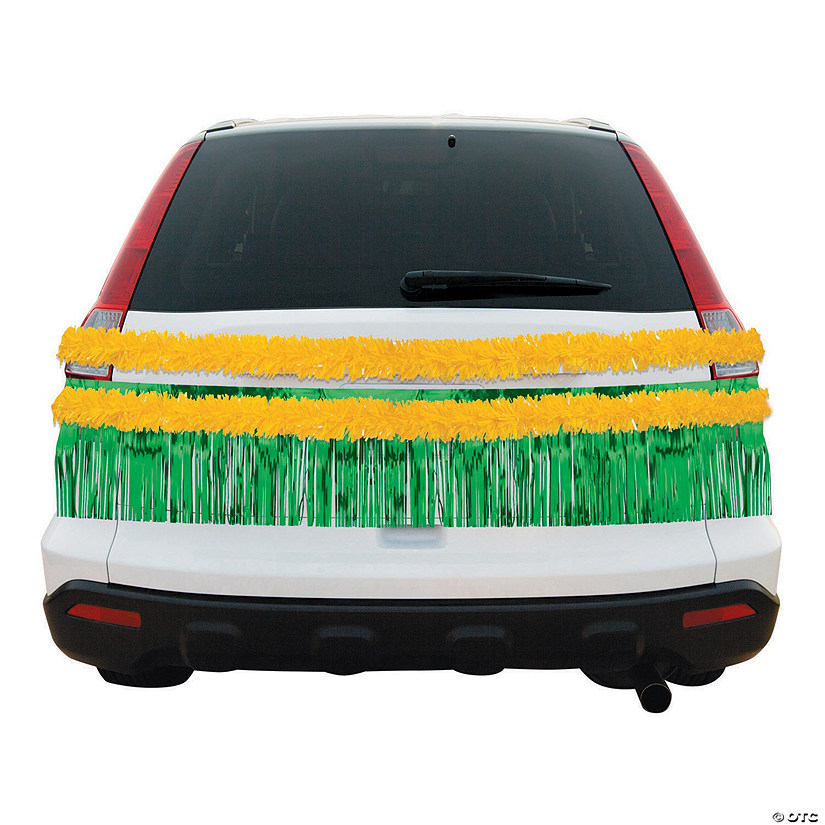 Green & Gold Car Parade Decorating Kit Audio Thumbnail