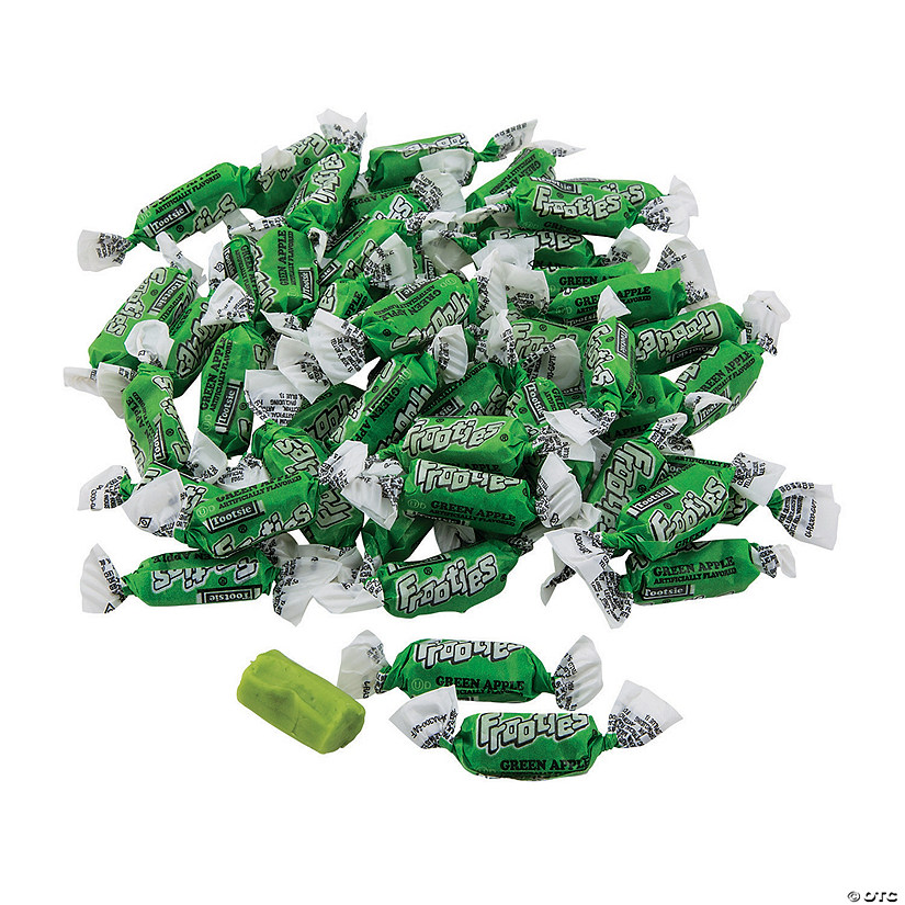 Green Apple Mini Tootsie Roll<sup>&#174;</sup> Frooties<sup>&#174;</sup> Chewy Fruit Candy Audio Thumbnail