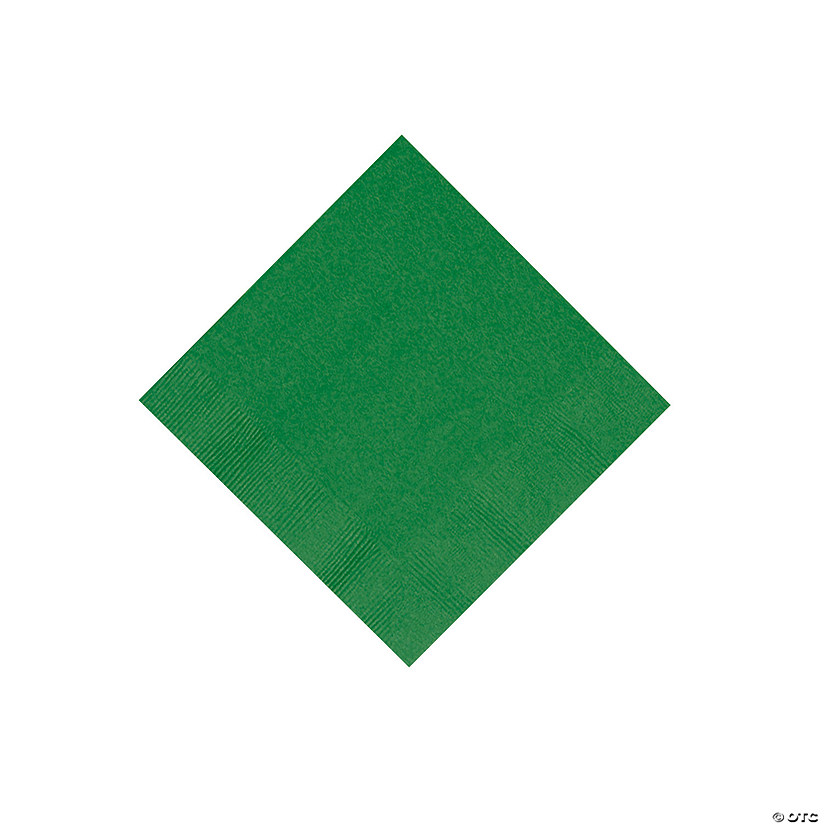 Green Beverage Napkins Image Thumbnail