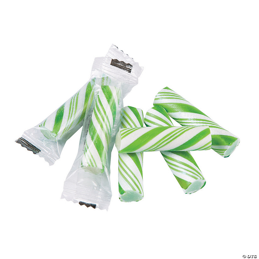 Green Mini Hard Candy Sticks Audio Thumbnail