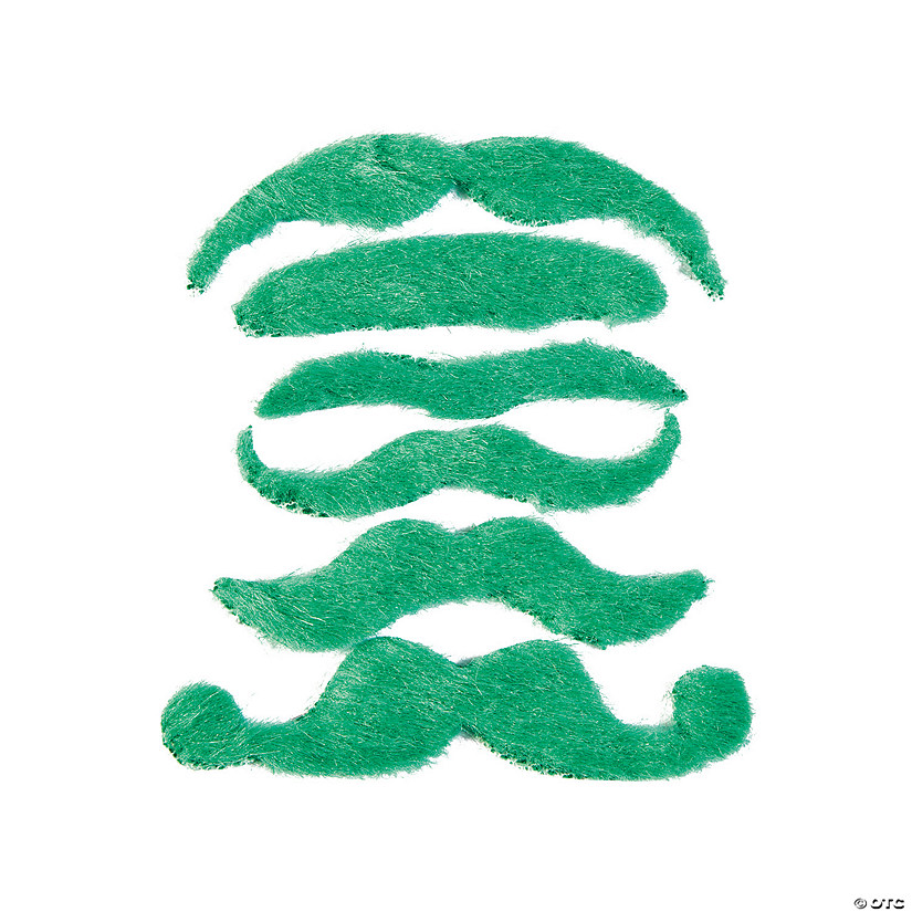 Green Mustache Assortment Image Thumbnail