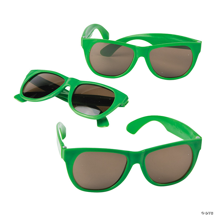 Green Nomad Sunglasses - 12 Pc.