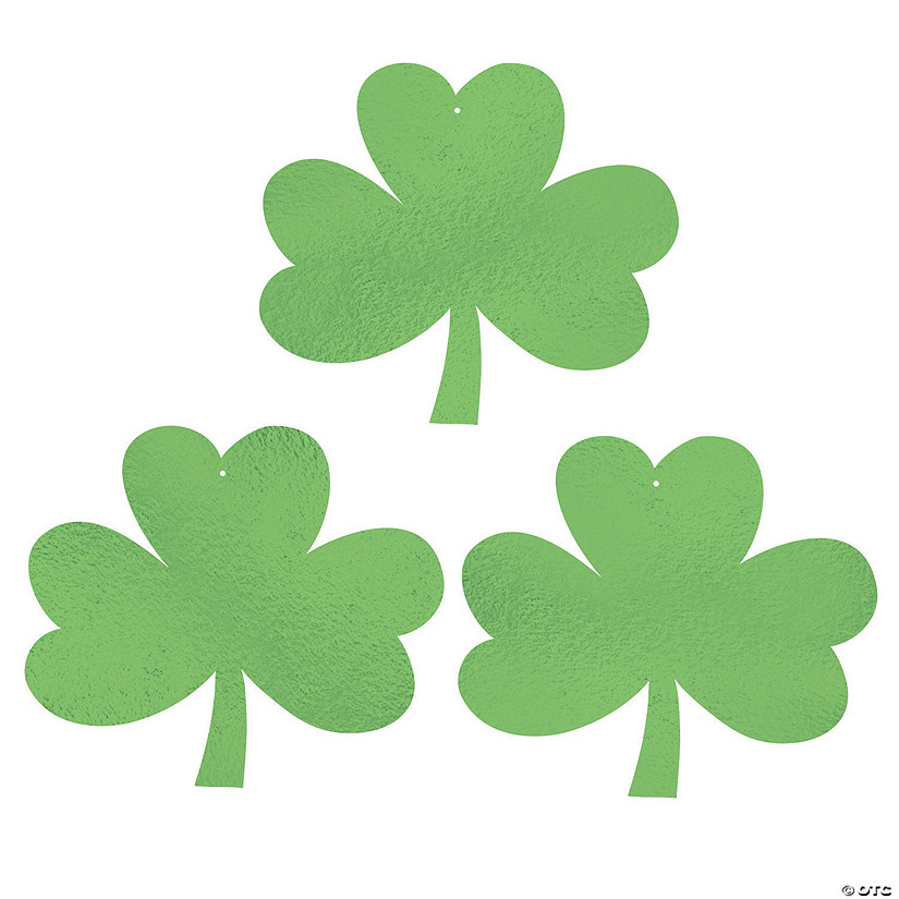 Green Shamrock Decorations Audio Thumbnail