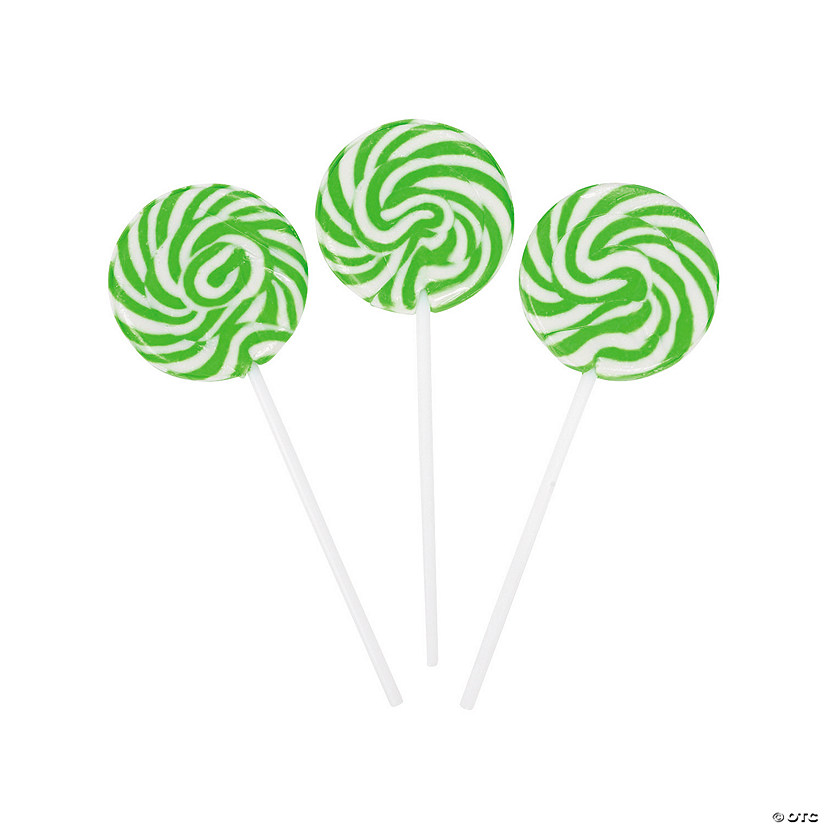 Green Swirl Lollipops Audio Thumbnail