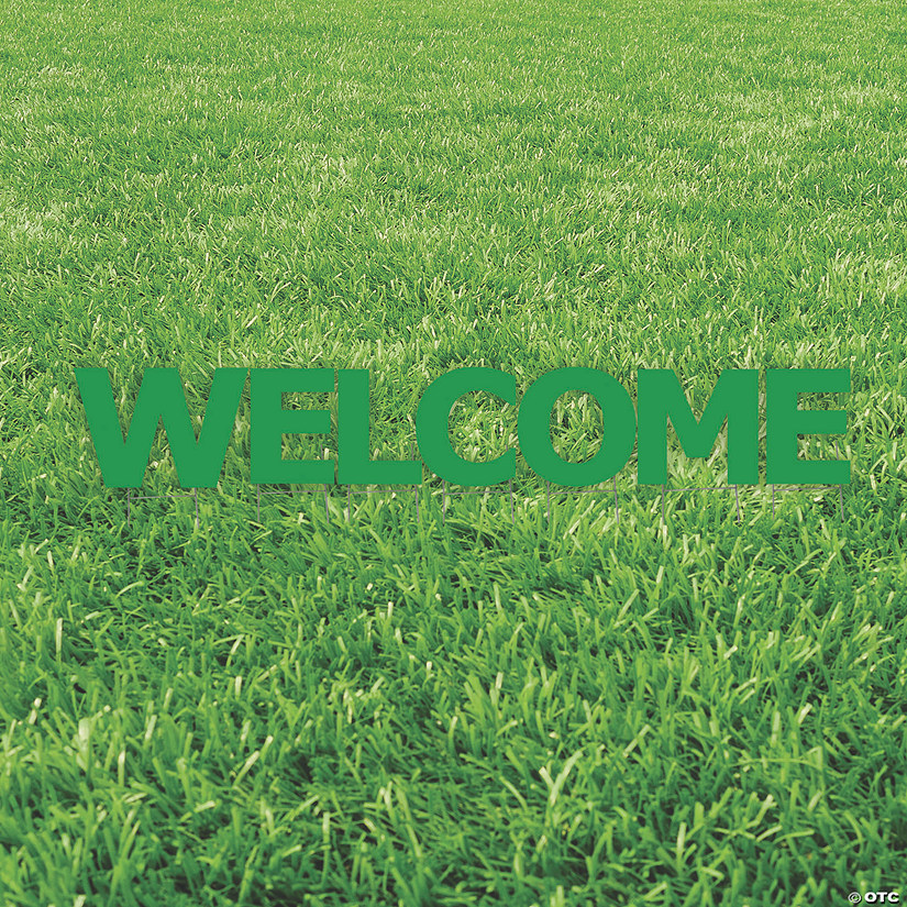 Green Welcome Yard Signs Audio Thumbnail