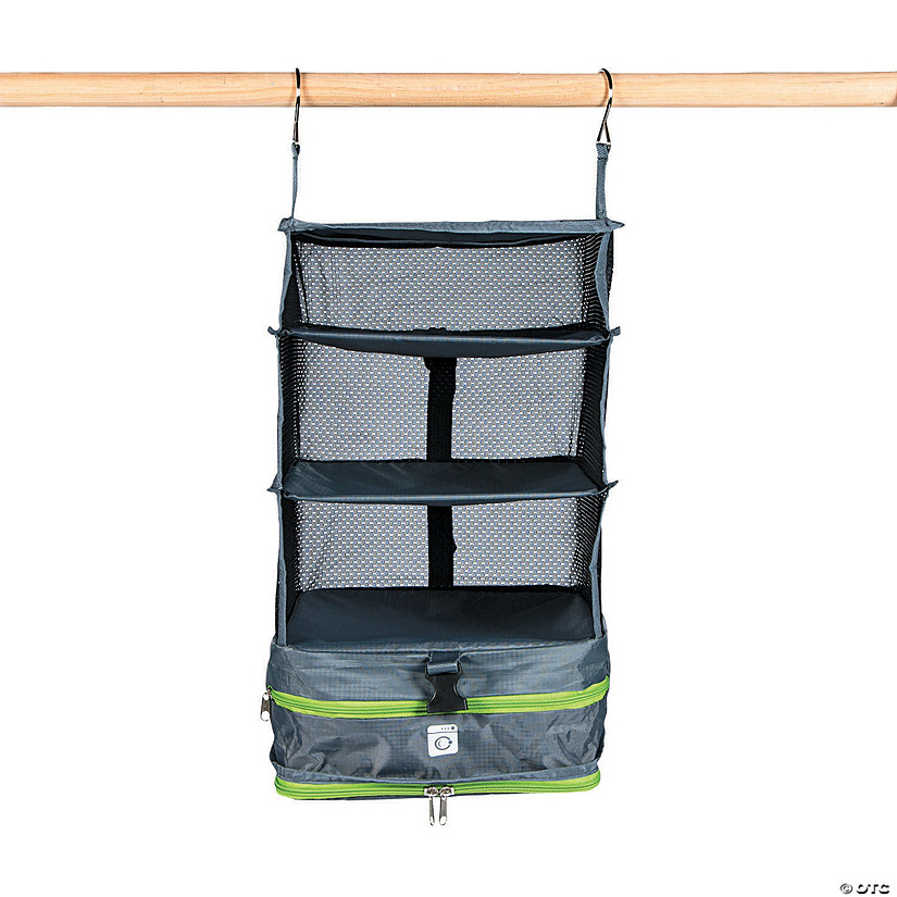Grey Collapsible Clothing Organizer