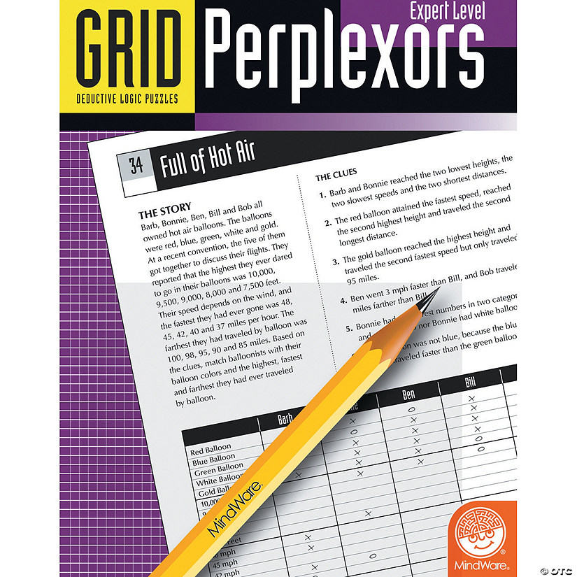 Grid Perplexors: Expert Level