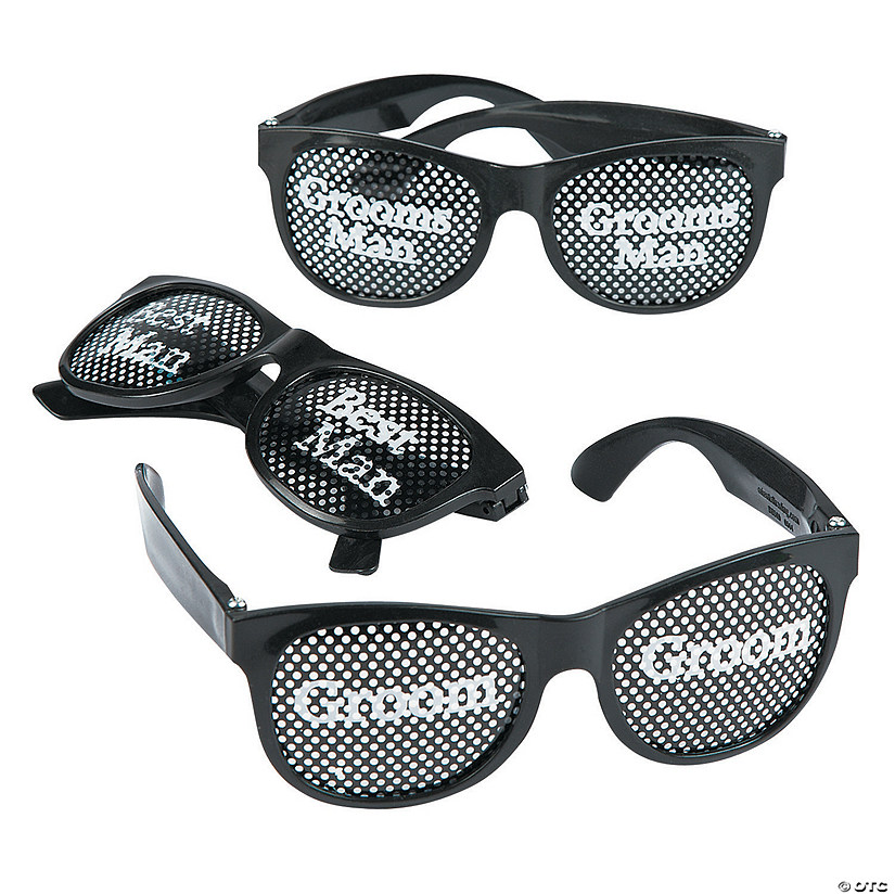 Groom's Party Pinhole Glasses Audio Thumbnail