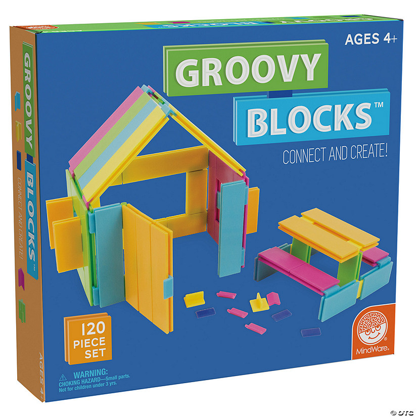 Groovy Blocks 120 Piece Set Image Thumbnail