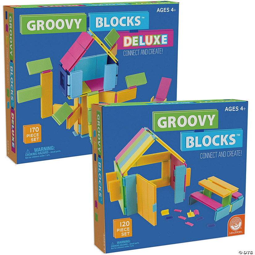 Groovy Blocks: Set of 2