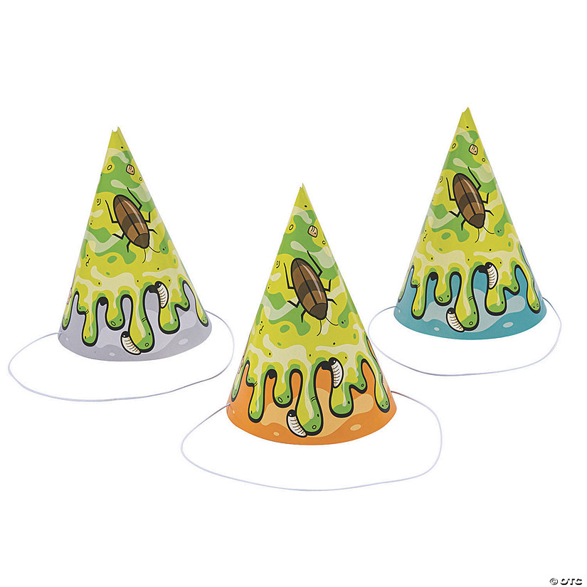 Gross Slime Cone Party Hats Audio Thumbnail