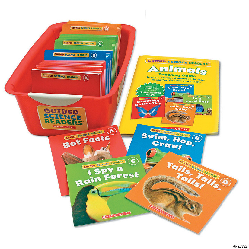 Guided Science Readers Super Animals Book Set, Grade K-1