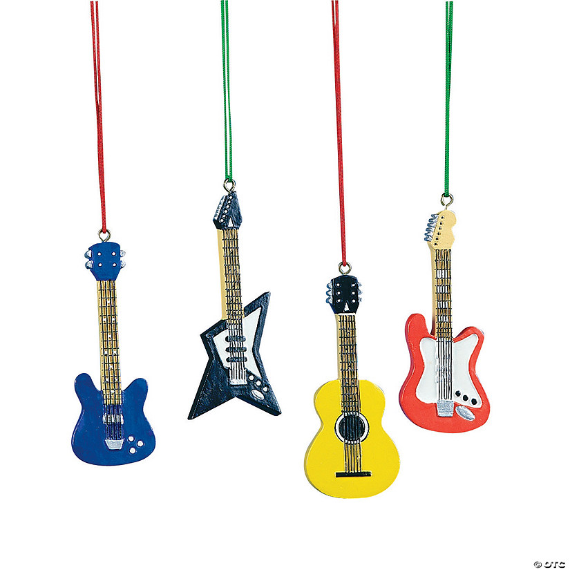 Guitar Christmas Ornaments - Discontinued