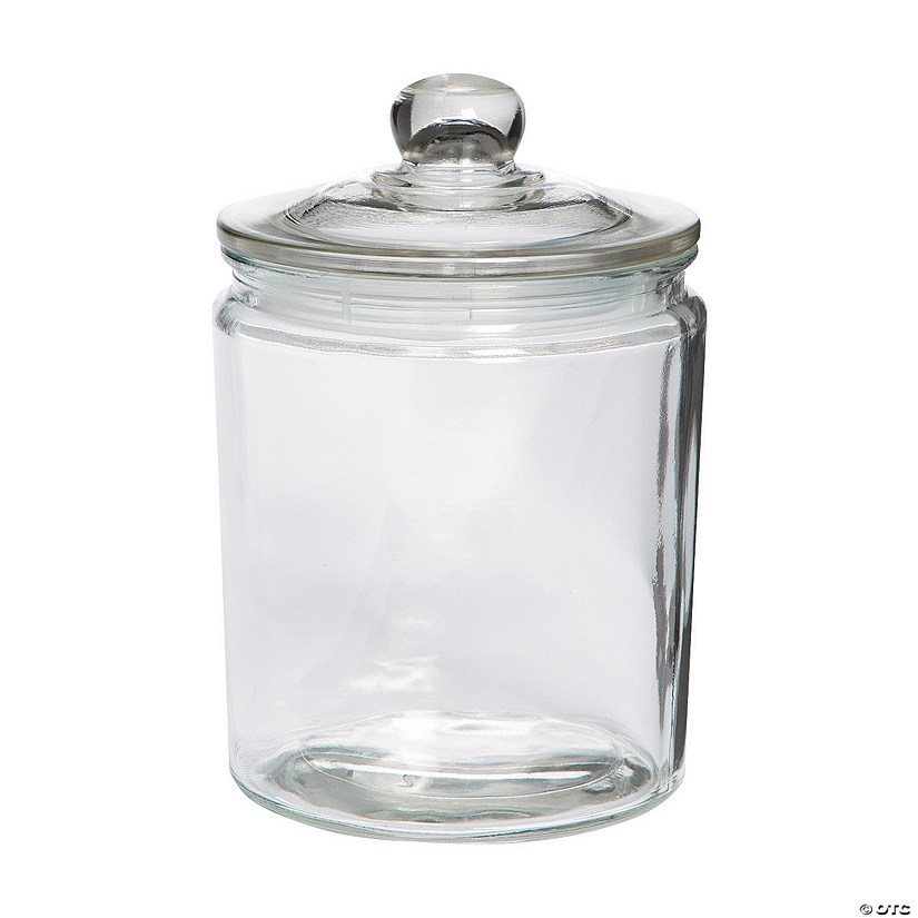 Half-Gallon Cylinder Jar with Lid