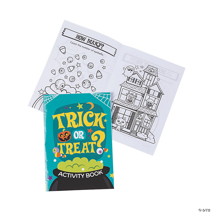 Halloween Activity Books Audio Thumbnail
