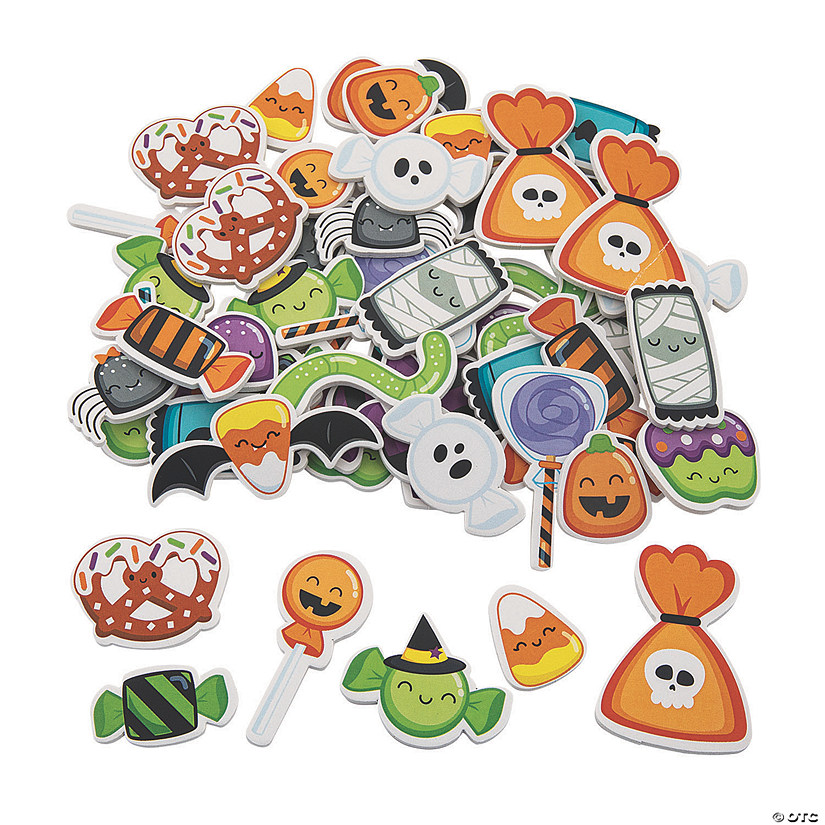 Halloween Candy Self-Adhesive Foam Shapes Audio Thumbnail