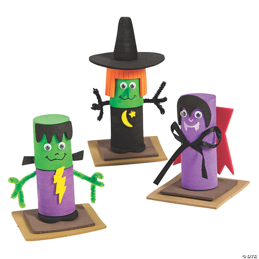 Halloween Character Marshmallow Craft Kit Audio Thumbnail