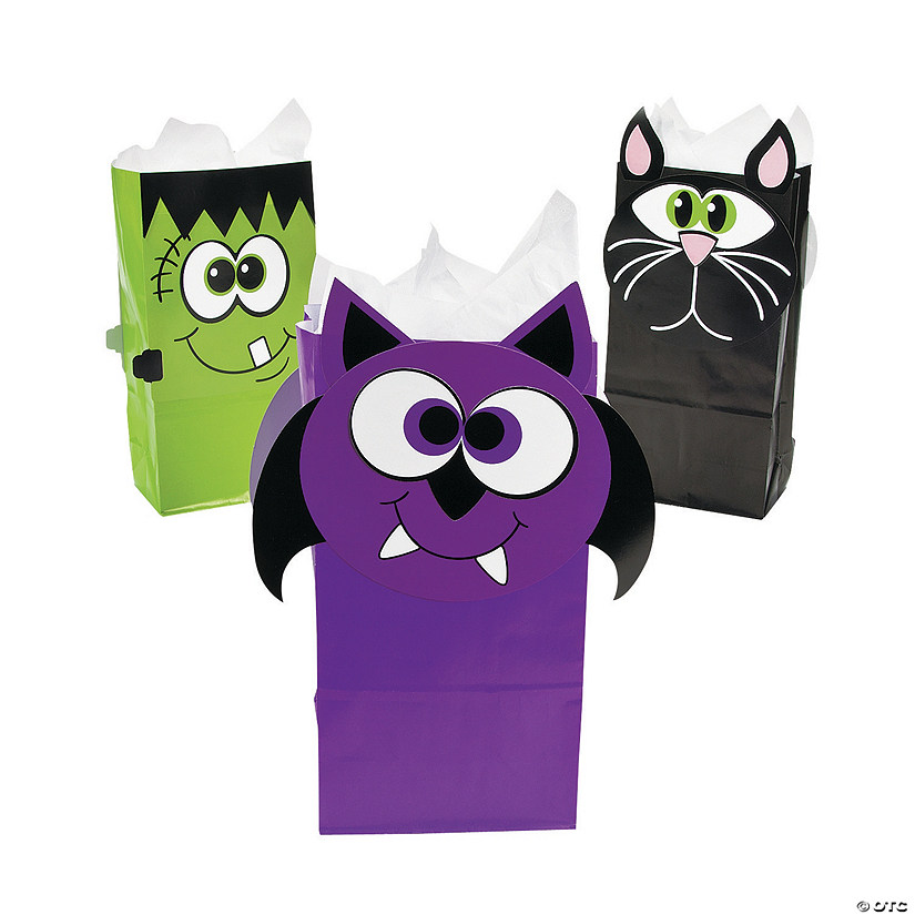 Halloween Character Treat Bags