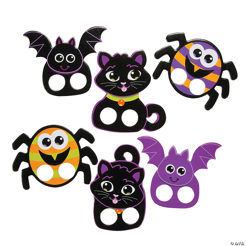 Halloween Characters Finger Puppets Audio Thumbnail
