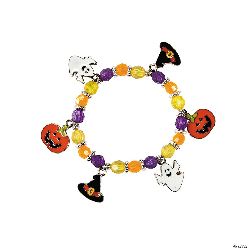 Halloween Charm Bracelet Craft Kit Image Thumbnail