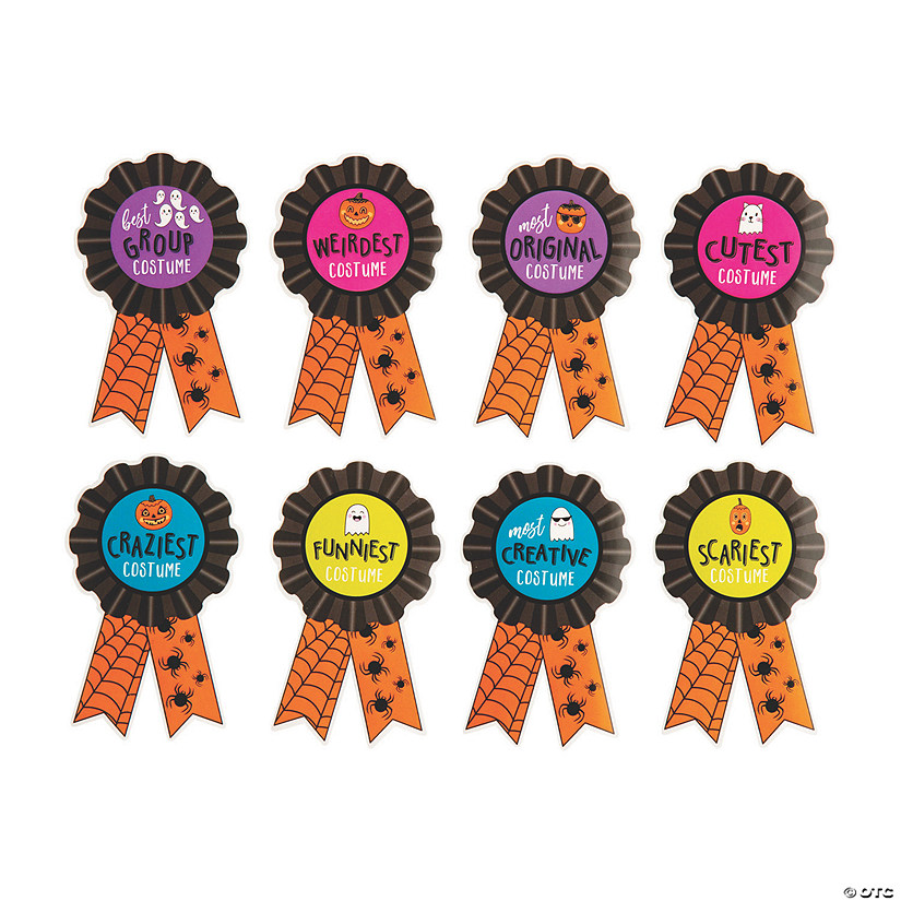 Halloween Costume Award Sticker Badges Image Thumbnail