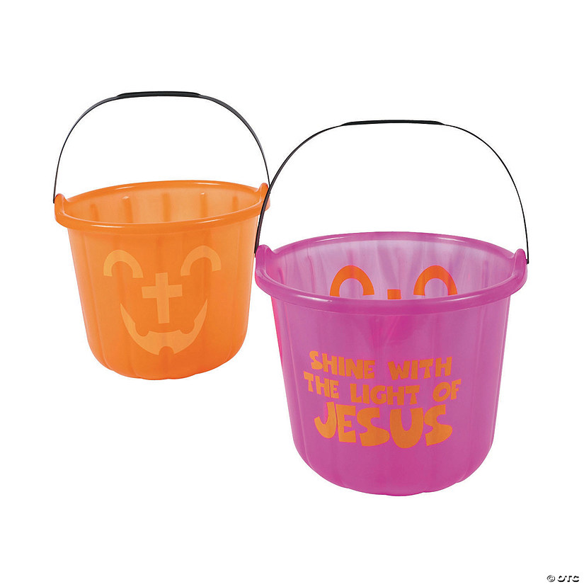 Halloween Cross Buckets