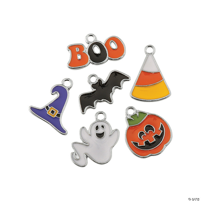 Halloween Enamel Charm Assortment