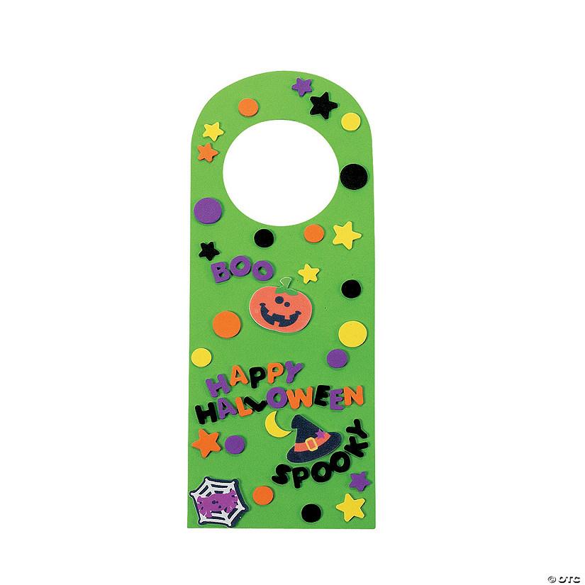 Party City Door Hangers: Halloween Friends Doorknob Hanger Craft Kit