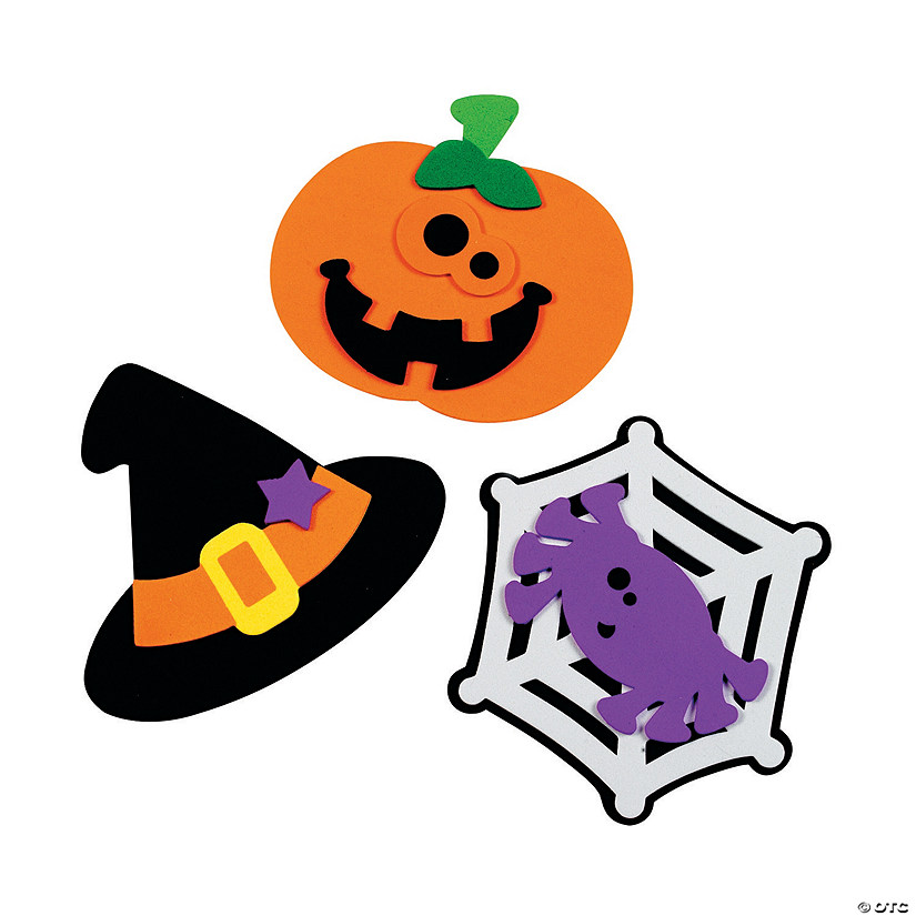 Halloween Friends Magnet Craft Kit Audio Thumbnail