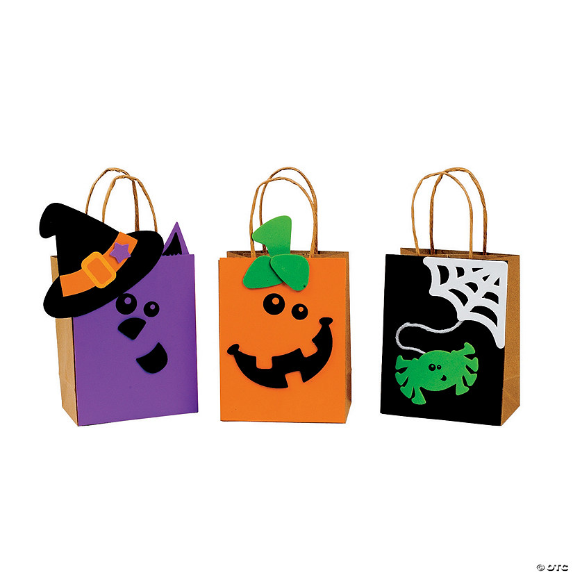 Halloween Friends Trick-Or-Treat Bags Craft Kit Audio Thumbnail