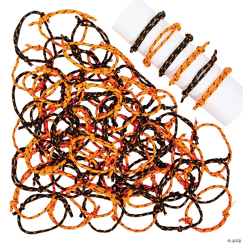 Halloween Friendship Rope Bracelets Image Thumbnail
