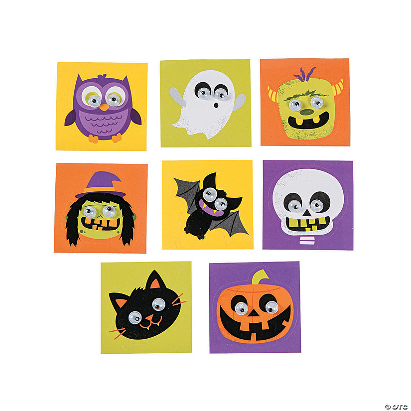 Halloween Googly Eye Stickers Image Thumbnail